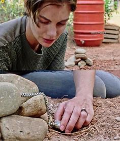 Season 7 E5 Maggie by Glenn's Grave