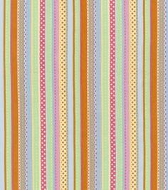 Nursery Fabric-Wild Stripe at Joann.com