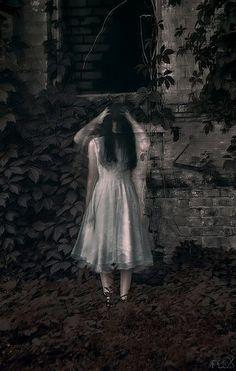 Creepy double exposure... Stunning Photo Manipulations by Irina Istratova