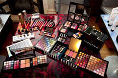 This looks like part of my makeup counter in my closet!