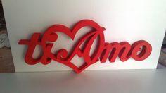 """scritte decorative """"ti amo"""""""