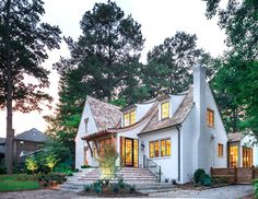 Mountain Brook Cottage - traditional - Exterior - Birmingham - Christopher Architects and Interiors