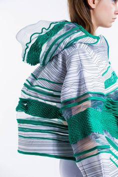 "Graduation Project 2015 This collection idea comes from ""Roller Braid"", which is my favourite activity when I was studying high diploma. It gives me energy, happiness and relaxing, so I would like to share these feeling through this collection.  Moreover, using shoelace weaving and sewing method to be the details to increase the texture and sports feeling. Sharp colours gives me energy and happiness."