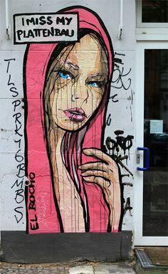 EL BOCHO. #el_bocho http://www.widewalls.ch/artist/el-bocho #streetart #urbanart #ElBocho