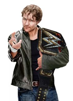 I love Dean with the title. WWE needs to put it on him for real in 2016
