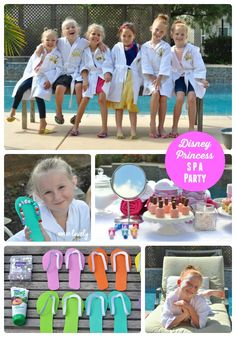 Disney Princess Spa Party for Girls… so cute! #shop