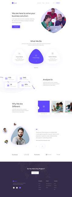 Pencil Agency Landing Page #agency #website #ui #ux #dribbble #landingpage #webdesign #creative #layout #homepage
