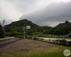 Storm brewing in Tokushima Prefecture. (Shikoku pilgrimage, Japan 2013)