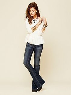 Free People Summit Baby Bell Flare