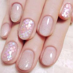 Nail art Christmas - the festive spirit on the nails. Over 70 creative ideas and tutorials - My Nails Round Nail Designs, Simple Nail Art Designs, Cute Nail Designs, Easy Nails, Easy Nail Art, Simple Nails, Elegant Nails, Stylish Nails, Special Nails