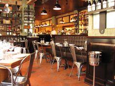 Delightful Retro Classic Restaurant Interior Design With Coffee ...