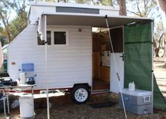 How to Build a Lightweight, Homemade Camping Trailer with Pop Up Roof
