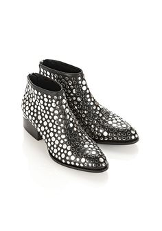 ALEXANDER WANG STUDDED KORI OXFORD WITH RHODIUM Ankle boots Adult 12_n_e