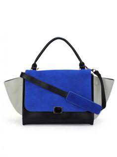Blue Vintage Totes Bag