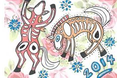 Year of the Horse 2014 - Chinese New Year Crafts