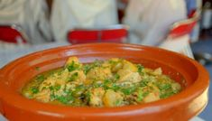 The Hairy Bikers Chicken tagine with preserved lemon and green olives