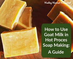 Can You Make Handmade Milk Soaps (Goat, Coconut, Buttermilk, Cow's Milk) Using the Hot Process Soap Making Method? Soap Making Recipes, Soap Recipes, Herbal Tinctures, Herbalism, Beauty Tips For Skin, Beauty Hacks, Herbal Remedies, Health Remedies, Honey Soap
