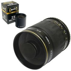 Opteka 500mm High Definition Lens for Digital Cameras