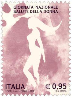 Emissione di un francobollo celebrativo della Giornata nazionale dedicata alla salute della donna
