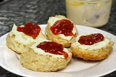 Low Carb Scones 6 net carbs per serving        Strawberry and Coconut Scones