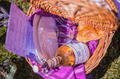 A picnic basket for wedding