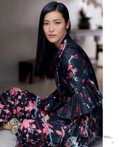 Liu Wen Embraces Sleek & Modern Styles for T Magazine Singapore - Fashion Gone Rogue