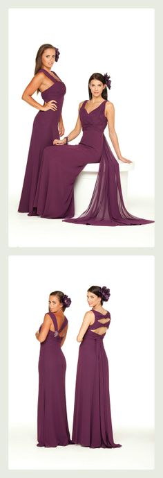 Special Day #bridesmaid dress, style #13205 pictured right. Available in a range of colours ~ The Moderne Bridal, Cork