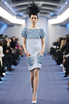Chanel Spring 2012 Couture Fashion Show - So Young Kang