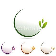 logo green, logo d'entreprise nature cosmetique