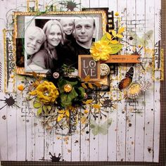 A window to my scrapping world: mid reveal for the June moodboard over @ Scrap around the world...: