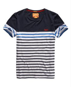 Superdry Breton Stripe T-shirt - Men's T Shirts