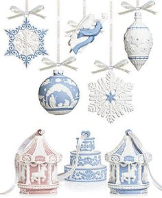 Wedgwood Christmas Ornament Collection - All Christmas Ornaments - Macy's