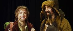 Bofur looked p. Hobbit Bilbo, Bilbo Baggins, Lotr, The Hobbit, One Does Not Simply, Martin Freeman, Lord Of The Rings, Middle Earth, Tolkien