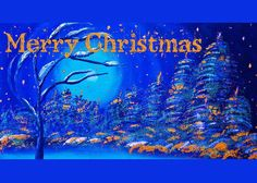 Merry Christmas Wish v2 Greeting Card