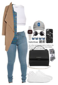 """Untitled #576"" by skaiisaylor on Polyvore featuring T By Alexander Wang, Givenchy, Casio, Maison Margiela, American Apparel, Harris Wharf London, October's Very Own, women's clothing, women and female"