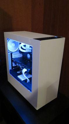 Plain old white desktop