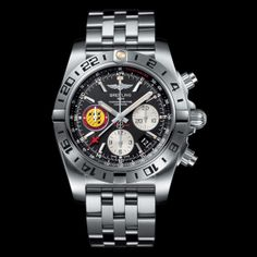 "Half a century of airborne feats (Video) BREITLING Chronomat 44 GMT ""Patrouille Suisse 50th Anniversary"" (See more at En/Fr/Es: http://watchmobile7.com/articles/breitling-chronomat-44-gmt-patrouille-suisse-50th-anniversary) (6/6) #watches #breitling @Breitling"