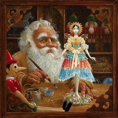 Gift to Mrs. Clause, James Christensen