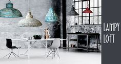 lampy loft industrial