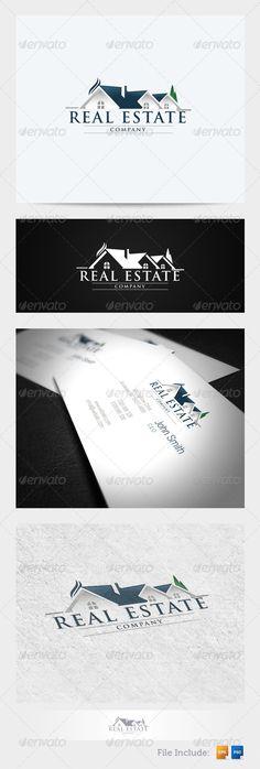 Real Estate Logo 1 - GraphicRiver Item for Sale