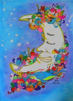 Doodle Coloring Adult Pages Books Color Inspiration Otaku Doodles Pencil Art Book Chance Vintage
