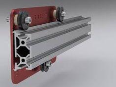 Image result for 80/20 Single Flange Linear Bearing uk
