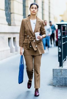 """Everyone Will Be Wearing This """"Ugly"""" Color for Fall via @WhoWhatWearUK"""