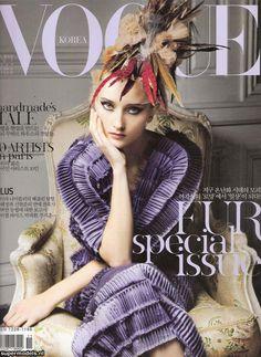 Supermodels.nl Industry News - Iekeliene Stange on the cover of Vogue Korea