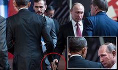 The almost handshake: Obama and Putin photographed in brief exchange - http://www.dailymail.co.uk/news/article-3953988/Obama-meet-Australia-Canada-leaders-return-US.html