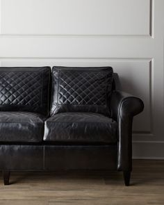 """""""Capetown"""" Leather Sofa by Old Hickory Tannery at Horchow., $5579"""