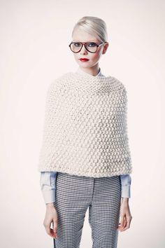 ManhattanCape | http://www.weareknitters.com/en/knitting-kits/manhattan-cape