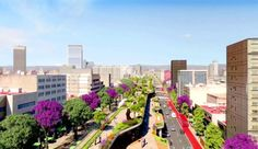 Mexico City is turning Avenue Chapultepec, a 10-lane highway, into a park