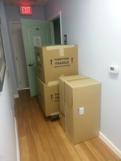 New Hygienist gear and room being setup at our Prima Vista location! Unboxed!