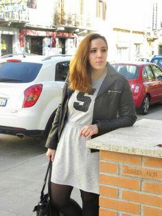 Sundays in Autumn #angieclausblog #newpost #newoutfit #fashion #fashionblogger #streetstyle #dress #tezenis @tezenis #jacket #leatherjacket #collant #calzedonia @calzedonia #outfit #bag #segue #sneakers #platform  http://angieclausblog.com/2014/11/09/sundays-in-autumn/